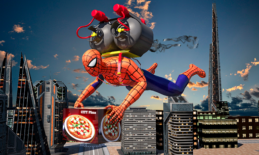 Spider Hero Pizza Delivery 1.5 {cheat|hack|gameplay|apk mod|resources generator} 1