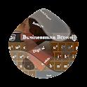 Businessman Brown GO Keyboard icon