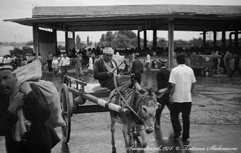 Photo: На базаре. Самарканд. Май 1978 года.