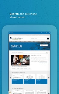 Musicnotes Sheet Music Player- screenshot thumbnail