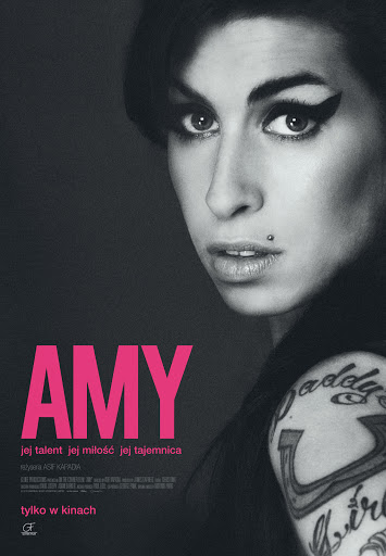 Polski plakat filmu 'Amy'