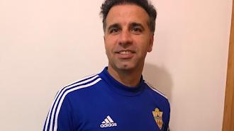 Javi del Pino es el míster del Cadete C del Almería, el CD Oriente.