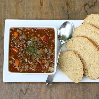 Smoky Lentil Fennel Soup