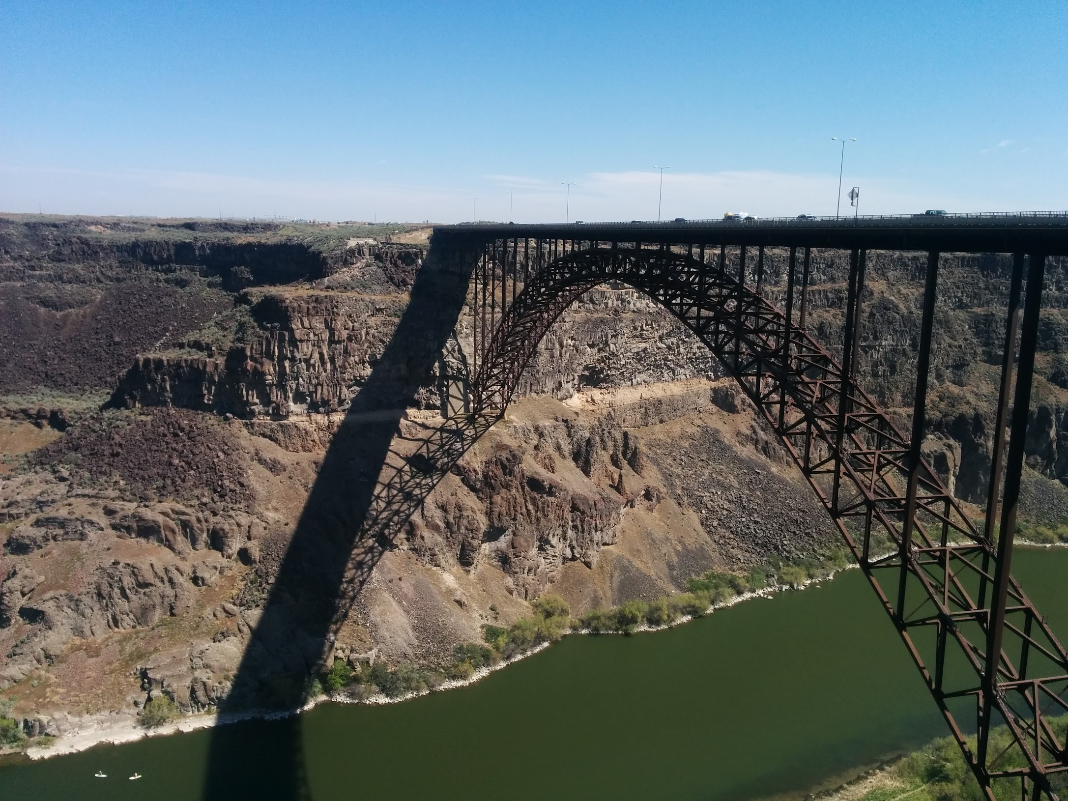 Idaho Archives Snake Skeleton Diagram Beautiful Scenery Photography The Bridge Itself Was We Walked To A Viewpoint Of Then Stopped Inside Visitors Center Modern Building With Big Windows And