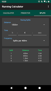 Running Calculator: Pace, Race Predictor, Splits Screenshot