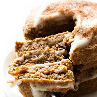 Fluffy Low Carb Keto Cinnamon Roll Pancakes (Paleo, Vegan) Recipe