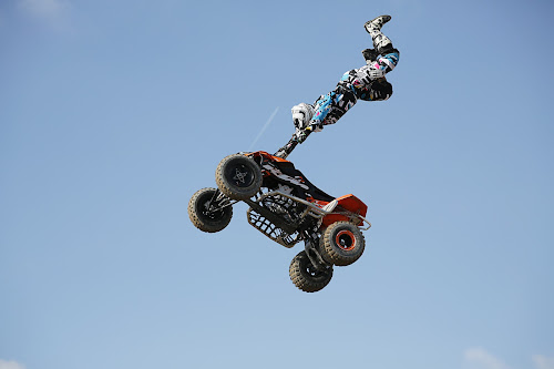 acrobatic trick with motor by Dominik Konjedic - Sports & Fitness Motorsports