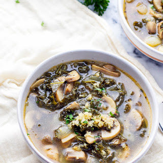 Kale Mushroom Soup Recipes.