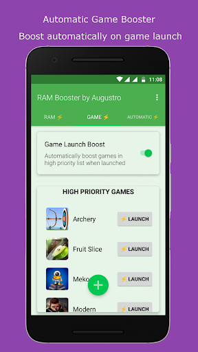 Download RAM & Game Booster by Augustro MOD APK 2