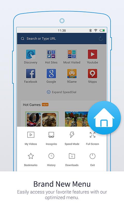 UC Browser Mini -Tiny Fast Private & Secure Screenshot