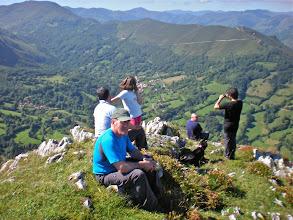 Photo: En la atalaya del pico Taraniello o NIDO de UTRE 985 m