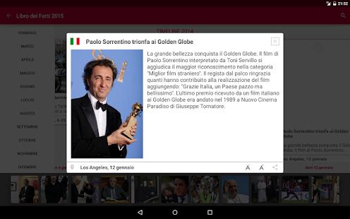 Libro dei Fatti 2015- screenshot thumbnail