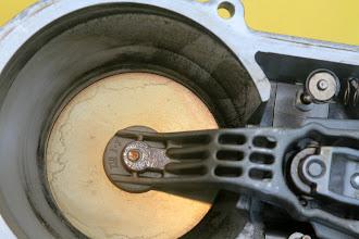 Photo: 1990 Benz 300E2.6 air flow sensor closeup