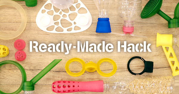 "An affinity project for free format 3D data & custom hacked designs ""READY-MADE HACK"""