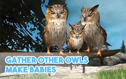Wild Owl Simulator 3D 1,05 screenshots 3