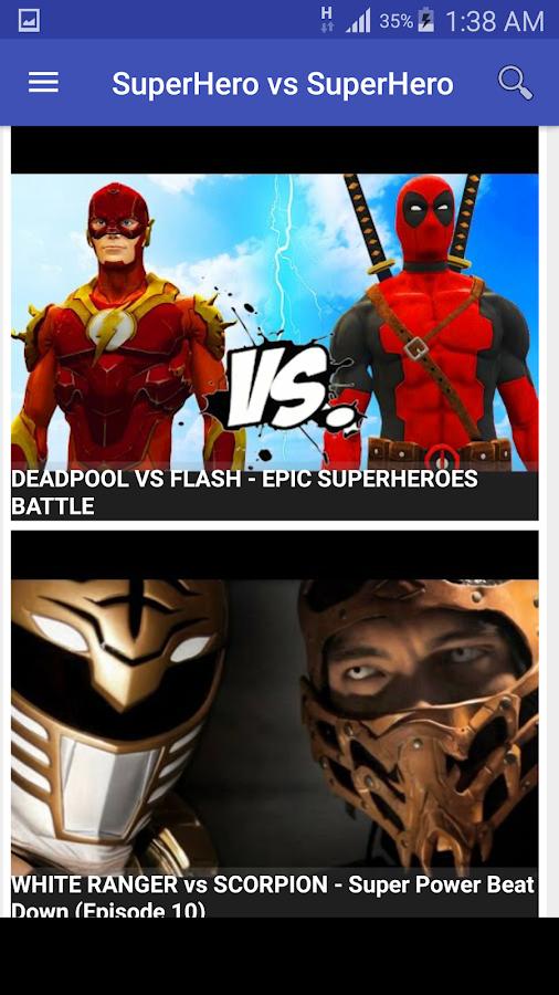 Fabuleux SuperHero VS SuperHero - Android Apps on Google Play PI74