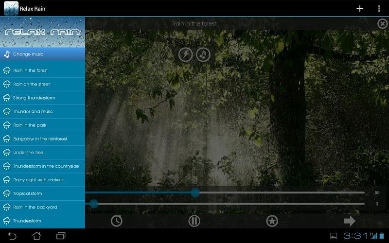 Relax Rain ~ Rain Sounds Screenshot 8