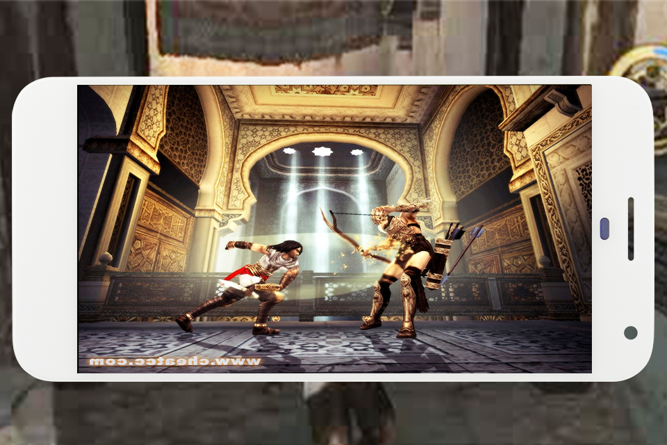 Screenshots of Persia Warrior fighting for iPhone