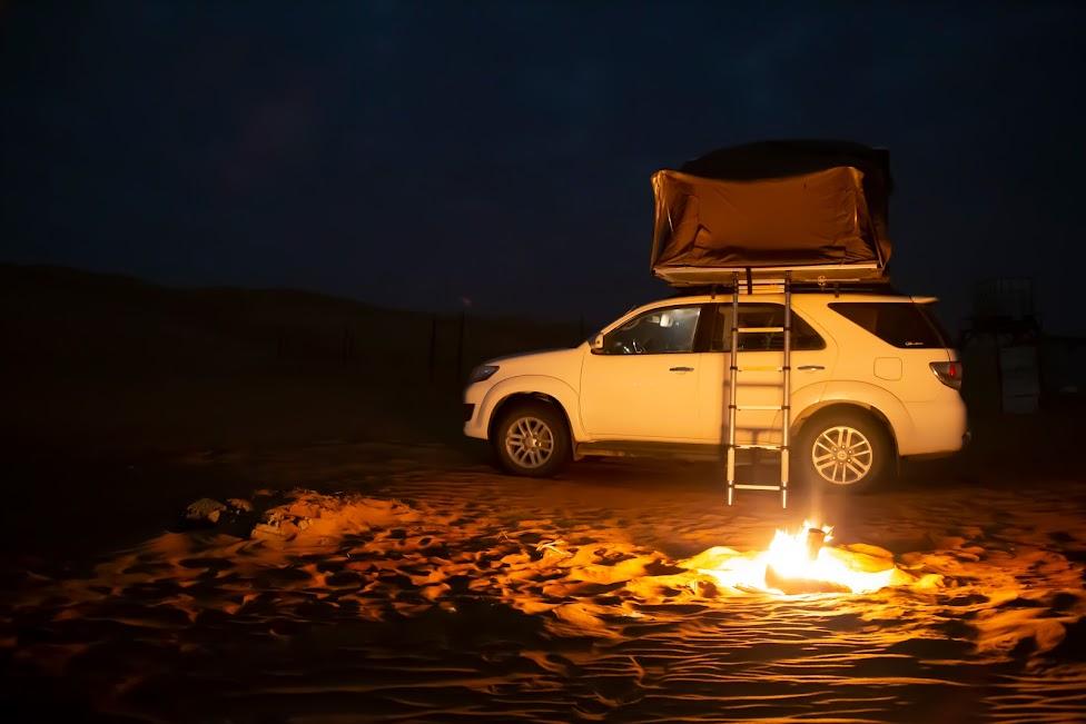 Wahiba Sands, Oman, pustynia, nocleg, namiot