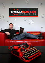 Photo: TORONTO, ONT.: APRIL 21, 2011 - Jeremy Gutsche, founder of Trendhunter.com, is seen here inside the company's Toronto offices Thursday April 21, 2011 (Photography by Tim Fraser for Postmedia News)(For Postmedia News story by Misty Harris)