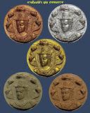 พระเทวราชโพธิสัตว์จตุคามรามเทพ รุ่น ราชันย์ดำ ชุดกรรมการ 5 องค์ กล่องเดิม