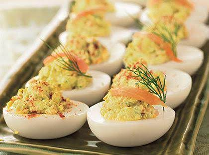 Spring Hill Ranch's Smoked Salmon Deviled Eggs Recipe