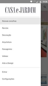 Revista Casa e Jardim screenshot 1
