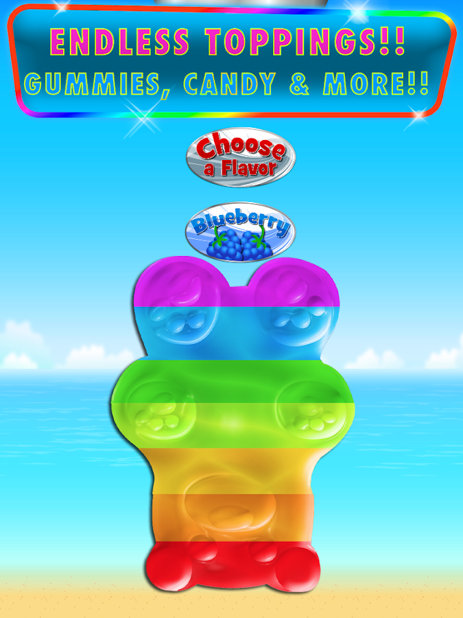Ice Popsicles Frozen Desserts- screenshot