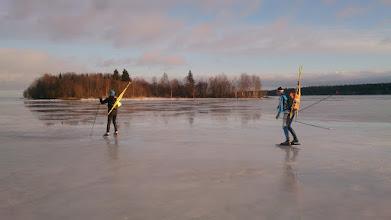 Фото: Конькобежцы из Шуньги