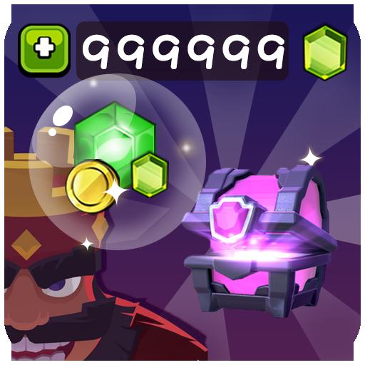 Hack for CR Unlimited free gems (prank)