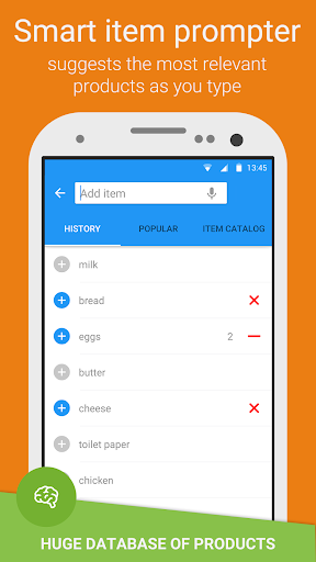 Grocery Shopping List - Listonic for PC