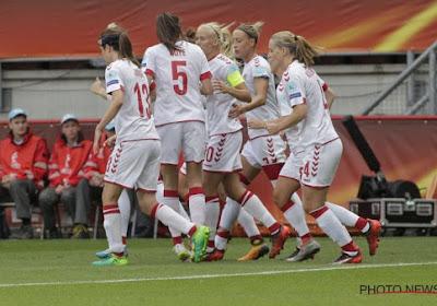 Denemarken opnieuw drie punten rijker op weg naar EK