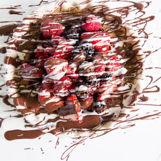 No-bake Berry Tart with Graham Cracker Crust.