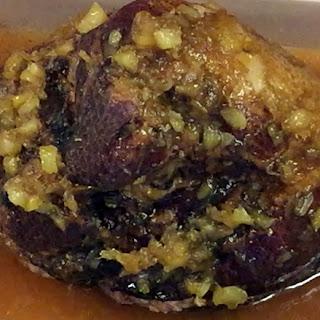 Amaretto Glazed Ham