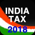 Tax Calculator India 2018 2017 icon