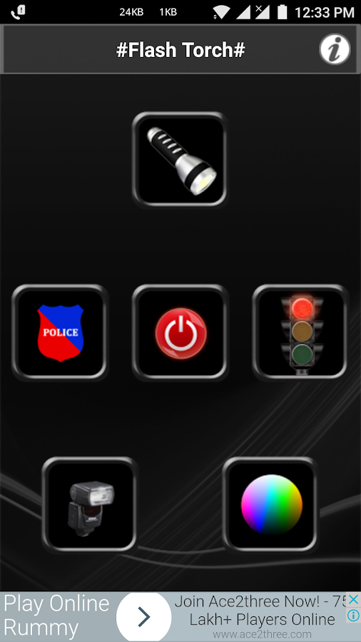 FlashLight (all in one tools)- screenshot