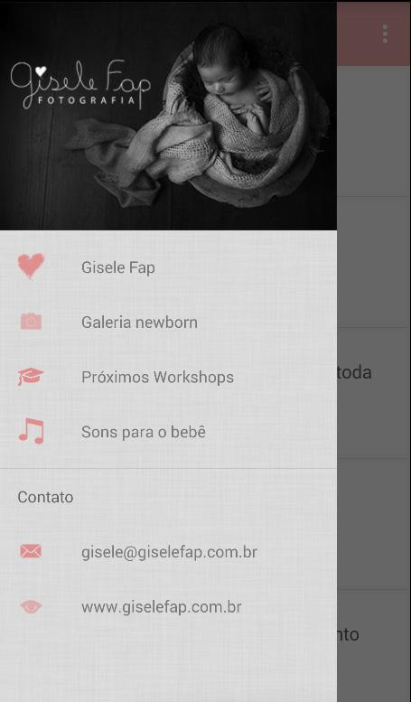 Dicas & Newborn by Gisele Fap- screenshot