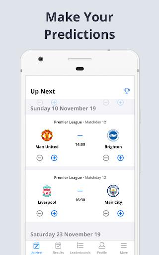 Forscore - Football Predictor 2.23.0 screenshots 1