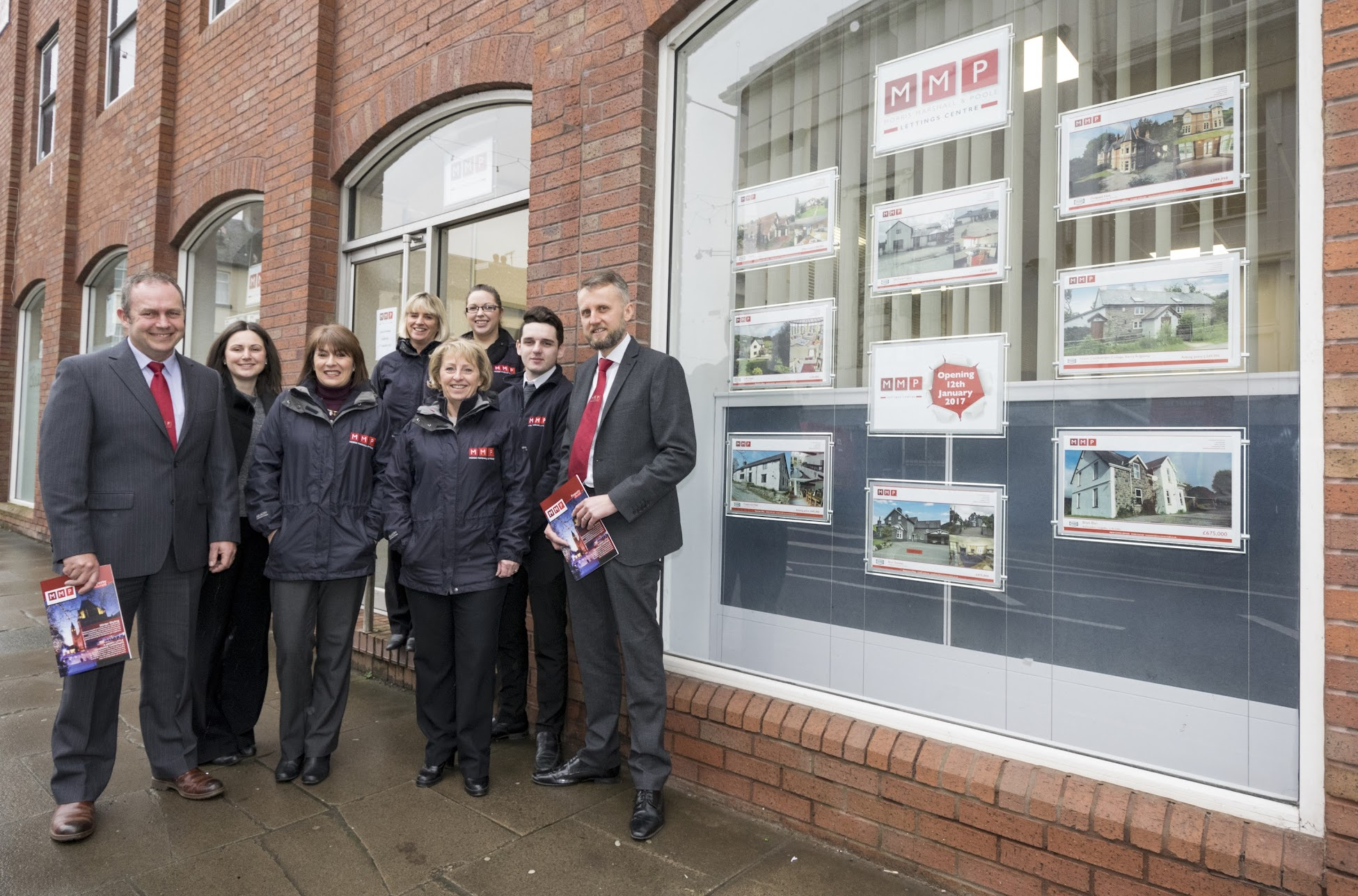 New Morris Marshall and Poole lettings office in Newtown, Powys