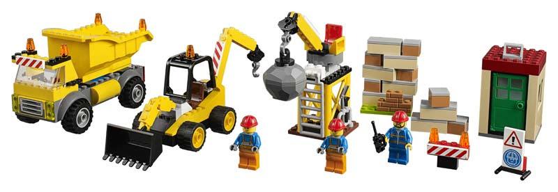 Contenido de Lego® 10734 Solar de Demolición