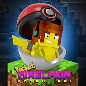 Pocket Pixelmon Katch Go!
