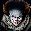 Pennywise killer clown Horror games 2020 icon