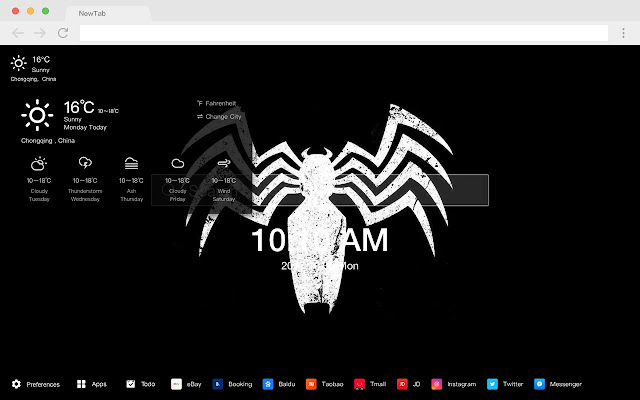 Venom HD Wallpapers New Tab Movies Themes