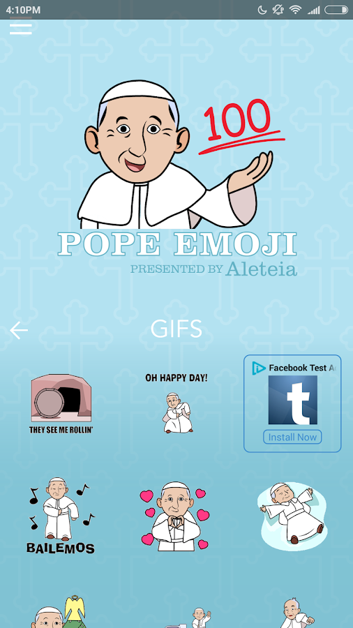 Pope Emoji- screenshot