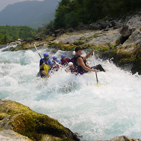 rafting by Dijana Zekan - Novices Only Sports ( rafting,  )