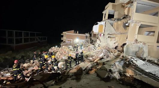 Encuentran a un menor sin vida en el derrumbe de un edificio en Peñíscola