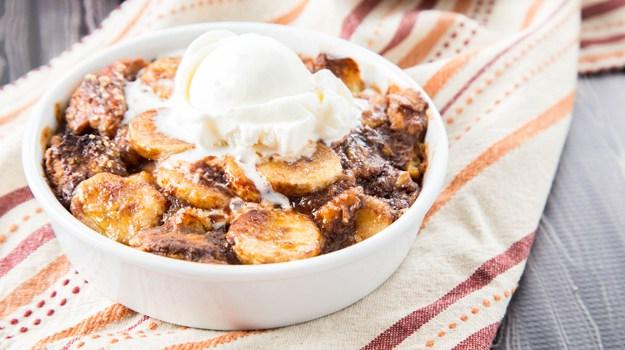 Banana Nutella Bread Pudding Recipe   Yummly