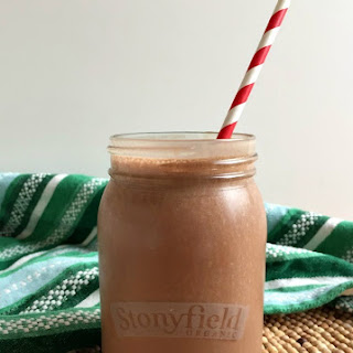 Peppermint Mocha Smoothie.
