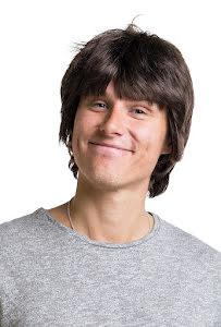 Peruk George, brun