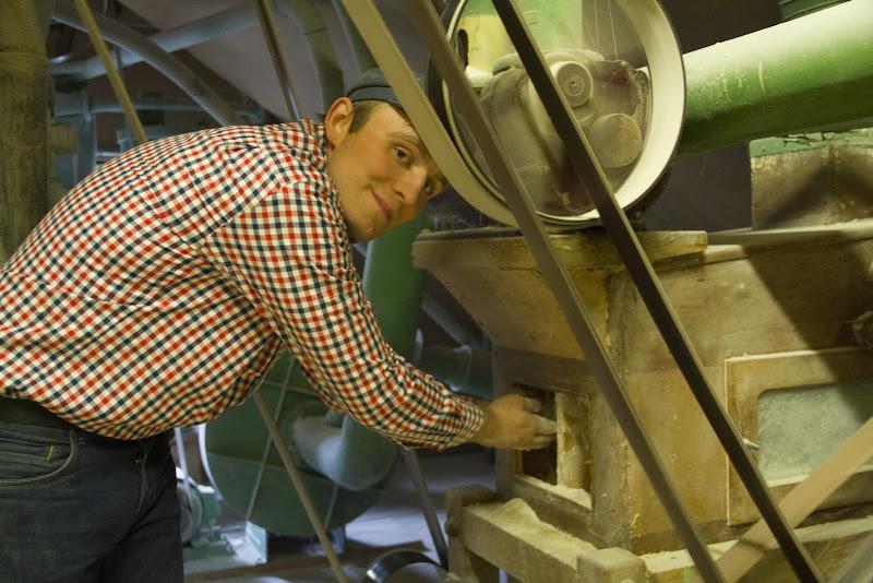 Am Mühlentag zeigt der Müller seine Mühle